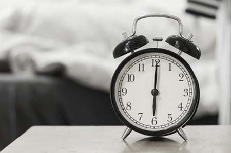 alarm clock sleep schedule